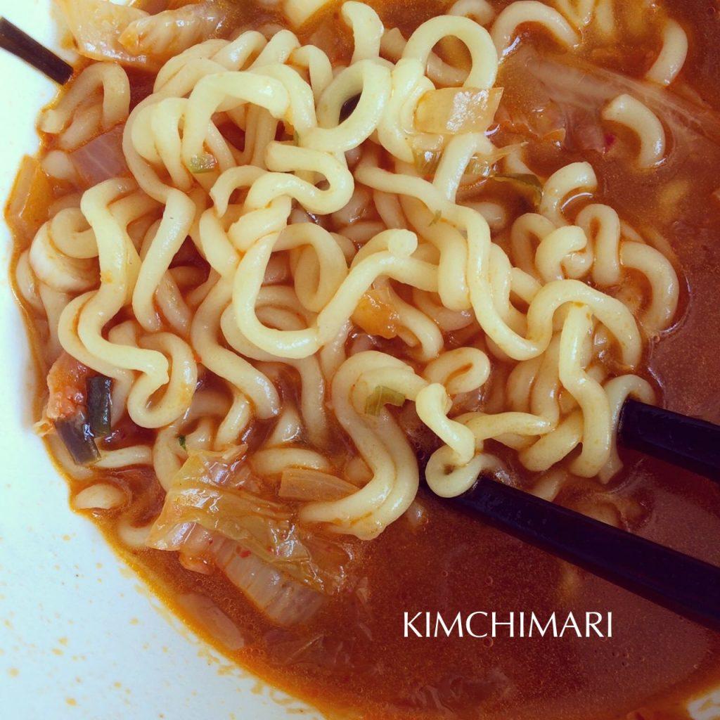 Kimchi Butter Ramen (Kimbura)