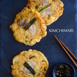 Bindaetteok (빈대떡) – Mung Bean Pancake