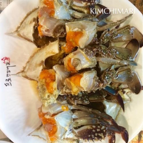 Korean Soy Sauce Crab - Kanjang Gejang (간장게장)