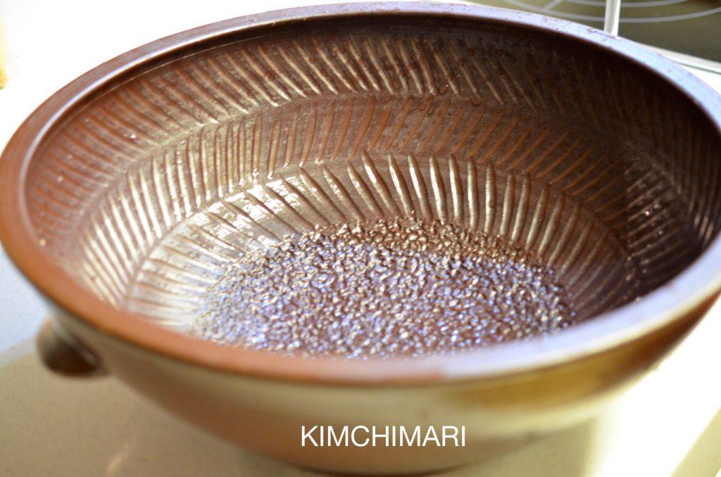 Kimchi making bowl - Hakdok (학독)