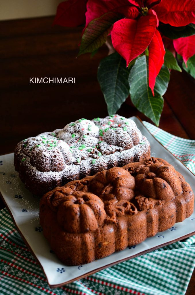 Christmas Dessert Duo (Pumpkin Spice Bread and Oven Rice Cake)