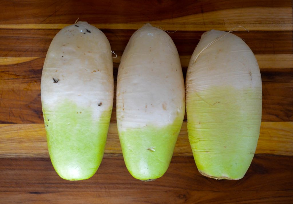 Imported real Korean Radish for Kimchi