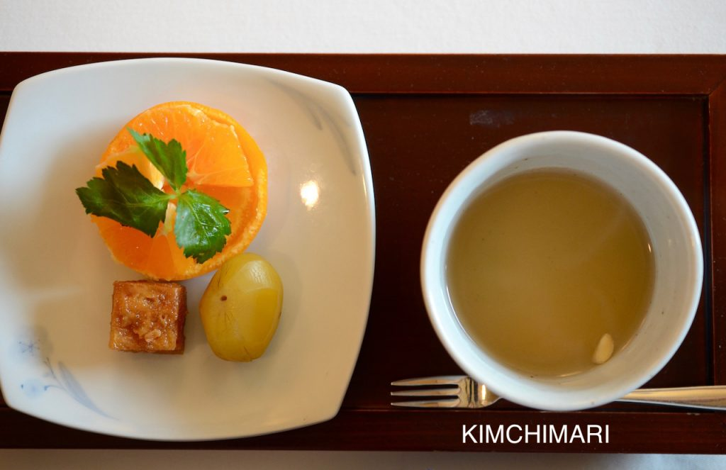 Korean Royal Desserts at Jihwaja