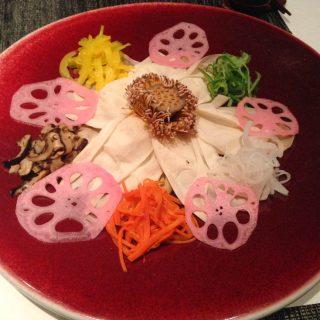 Lotus Flower Platter Japchae