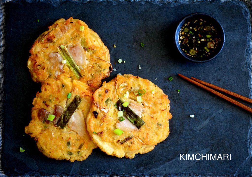 Korean Mungbean Pancake(Bindaetteok 빈대떡)