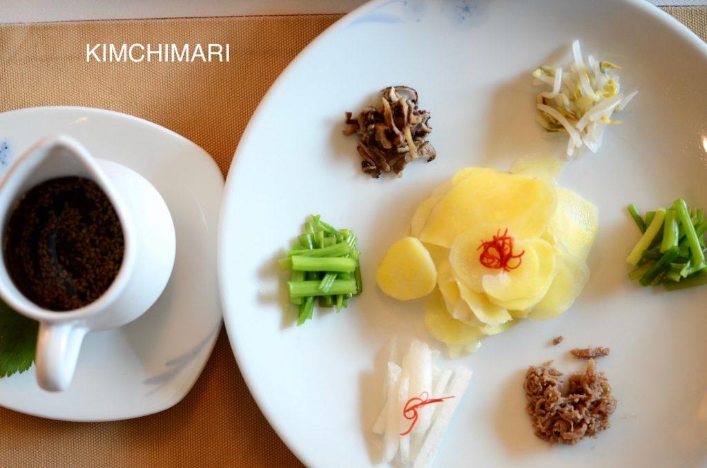 Seasonal Vegetable Delights (계절 별미채 Gyejeol Byeolmichae)