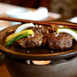 Tteok Kalbi (Grilled short rib patties)