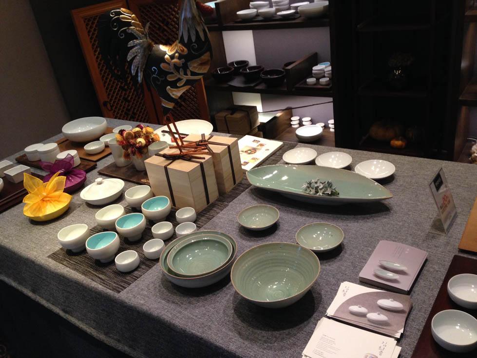korean ceramic plates