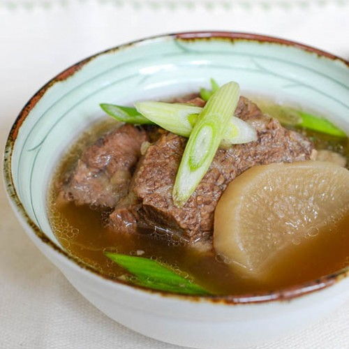Korean Short Rib Soup (Galbitang)