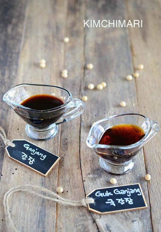 Korean Soy Sauces - Ganjang(간장) and Guk Ganjang(국간장)