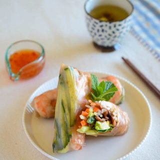 Easy Pork Bulgogi Spring Rolls