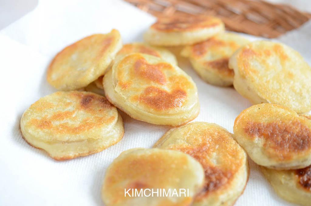 Potato fritters Recipe (Gamjanjeon)