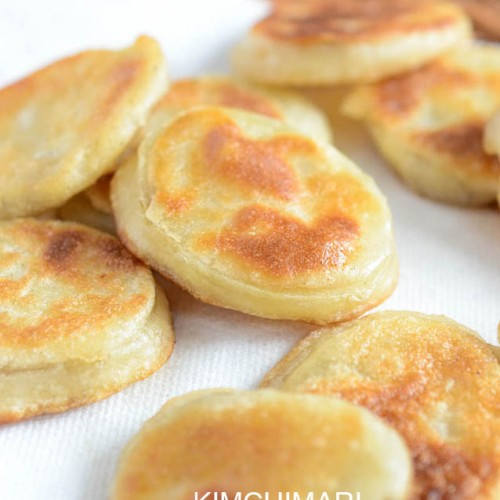 Gamjajeon or Korean Potato Fritters