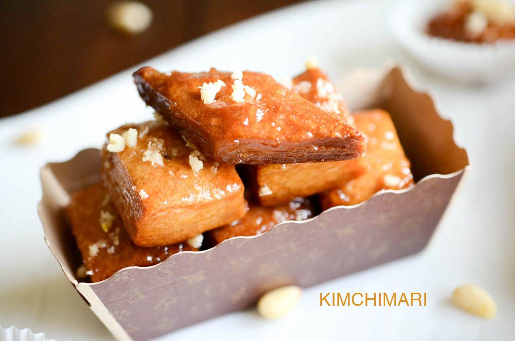 Need a Korean Dessert? Try this Easy Baked Yakwa! | Kimchimari