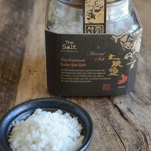 Premium Korean Solar Sea Salt from THE SALT