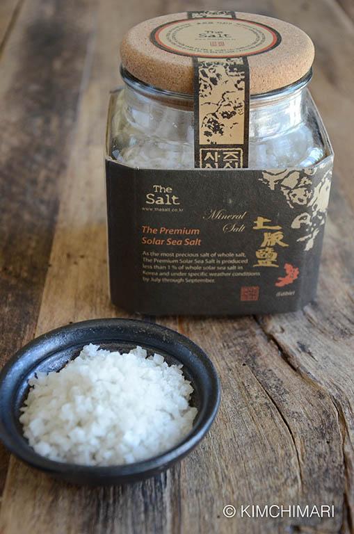 Premium Korean Solar Sea Salt from THE SALT