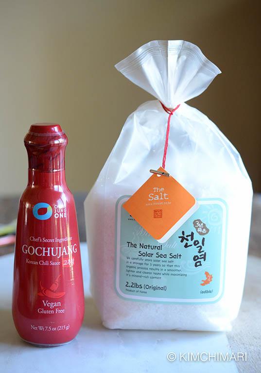 Korean Gochujang and Solar Sea Salt Giveaway