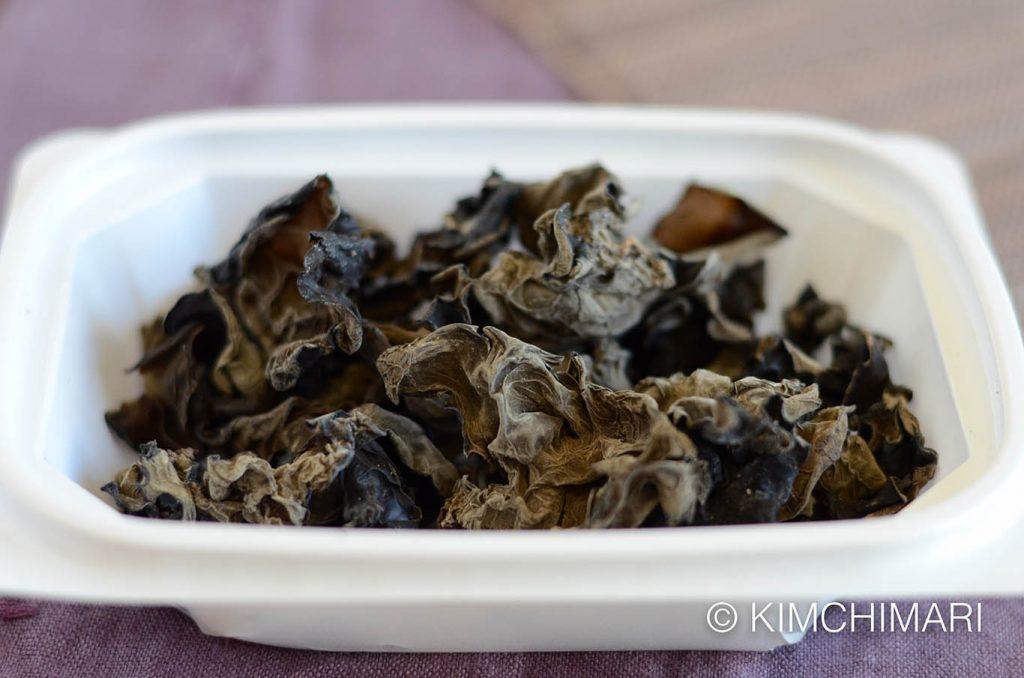 Dried Wood Ear Mushroom (Mogi Beoseot)