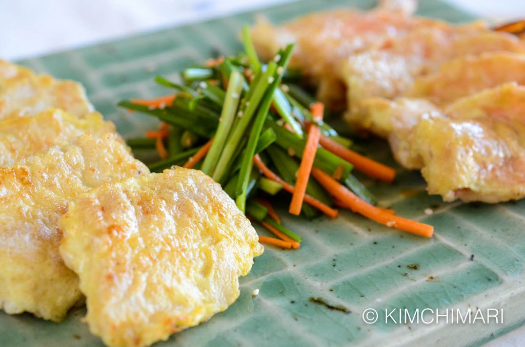 Korean Fish and Shrimp Jeon (Saengsun Jeon, Saewoo Jeon)