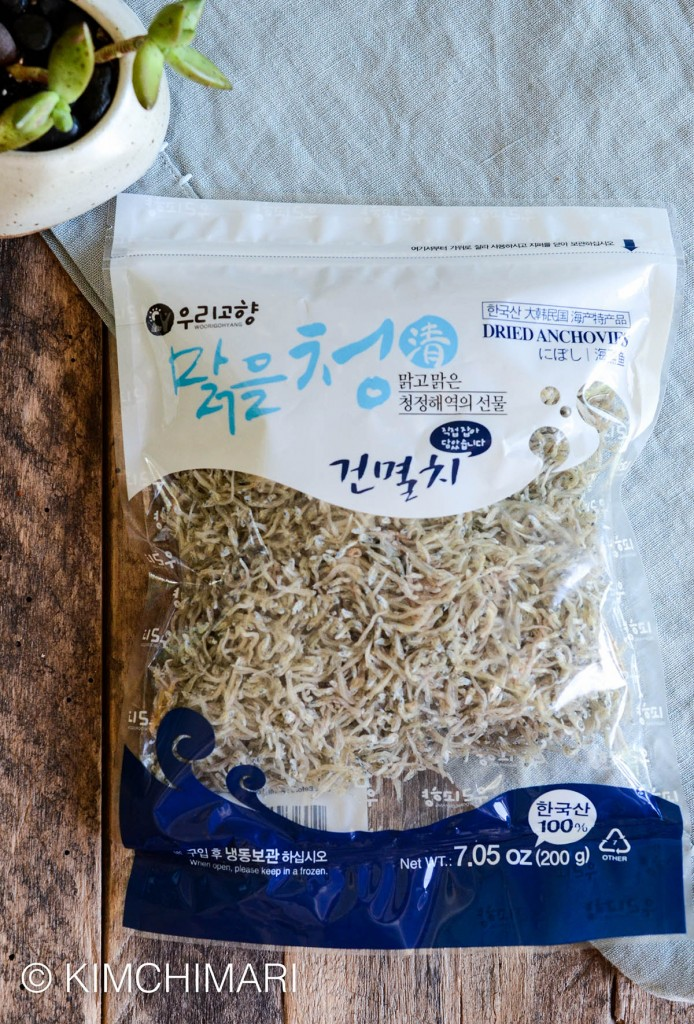 Mini Dried Anchovies for Myeolchi Bokkeum