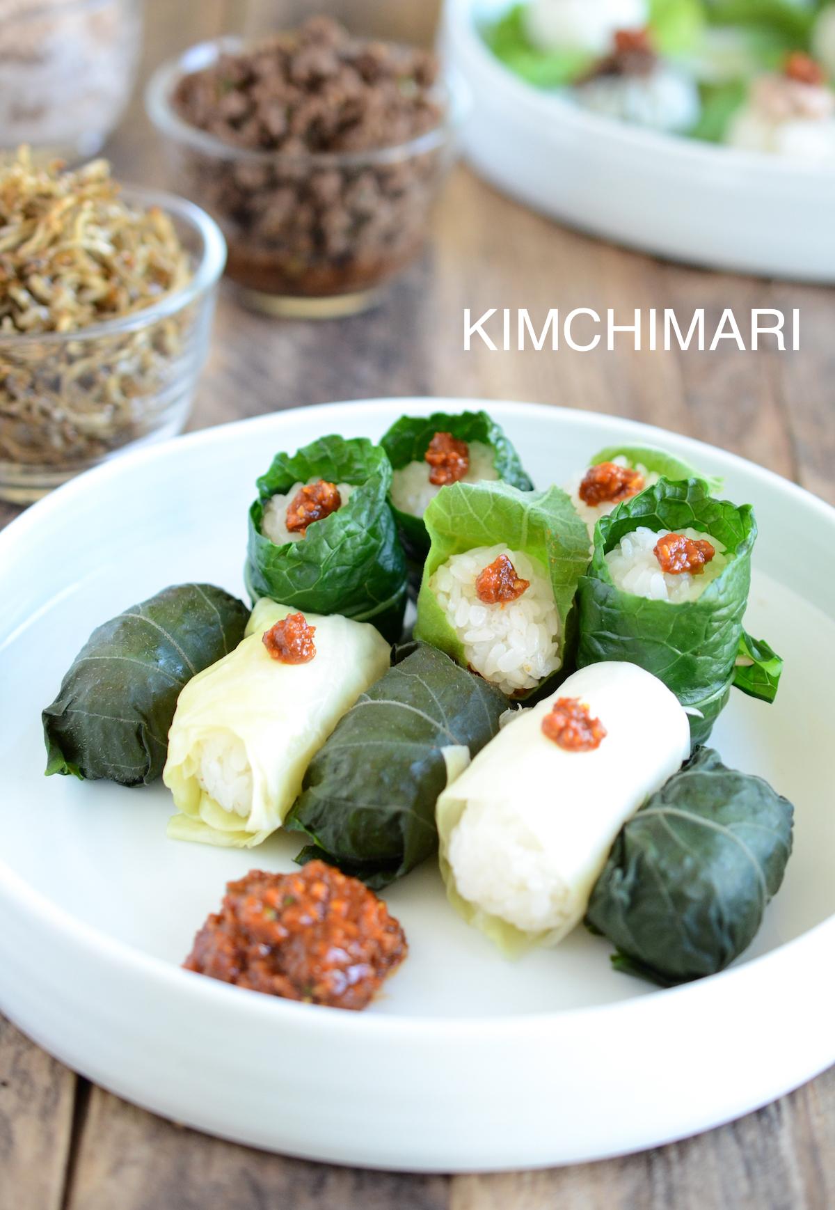 3 Easy Ssam And Ssambap Recipes Kimchimari