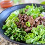 Bulgogi Rice Bowl with Korean Greens