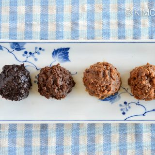 Doenjang (Korean soybean paste) and their different colors