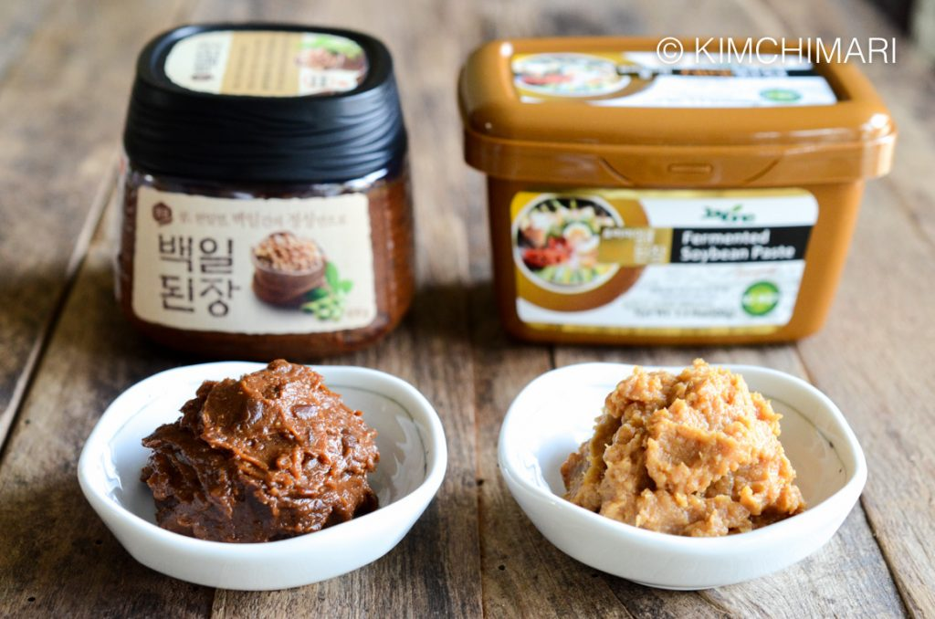 Good Doenjang to buy - Sempio and Jayone