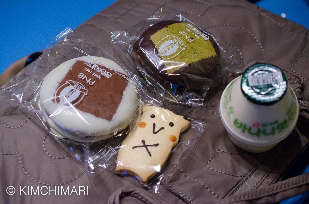 Choco Pie Pikachu Cookie from PNB Bakery Jeonju