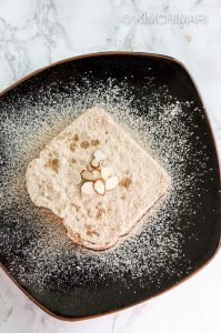 Injeolmi Toast - Korean Rice Cake Sandwich