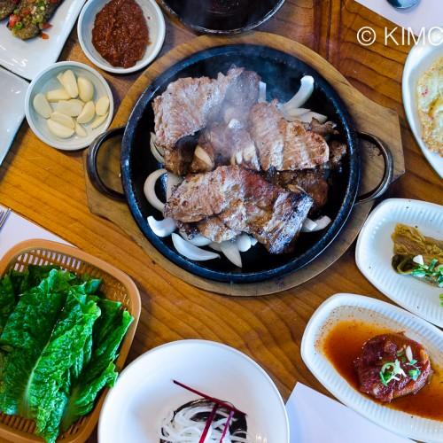 Jeonju Hanokjip Pork Rib BBQ (Dweji Kalbi)