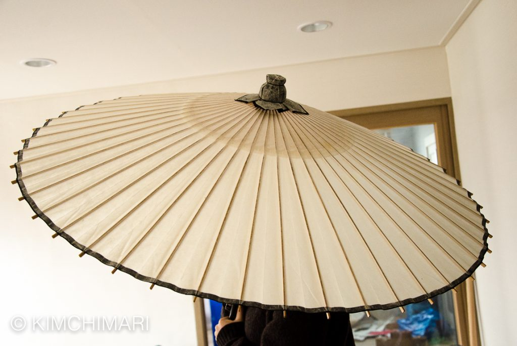 Korean Traditional Paper Umbrella - Jiwusan