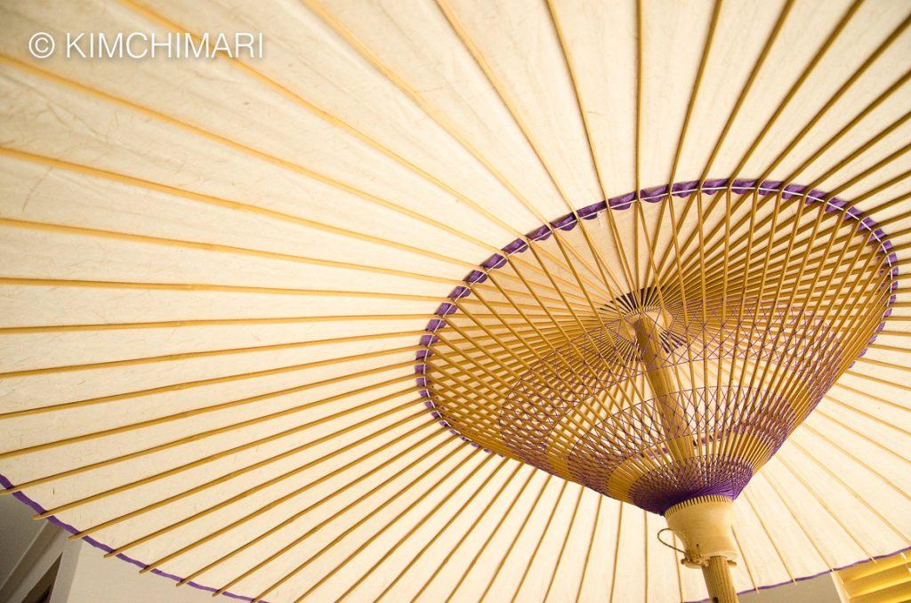 Paper Umbrella (Jiwusan) by Korean Artisan in Jeonju