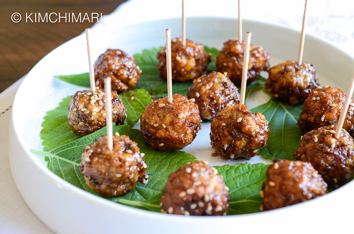 Korean Cocktail Meatballs for the Holidays!
