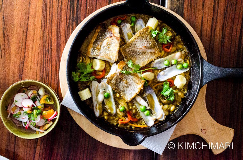 Arroz Meloso - Peruvian Creamy Rice with Seafood