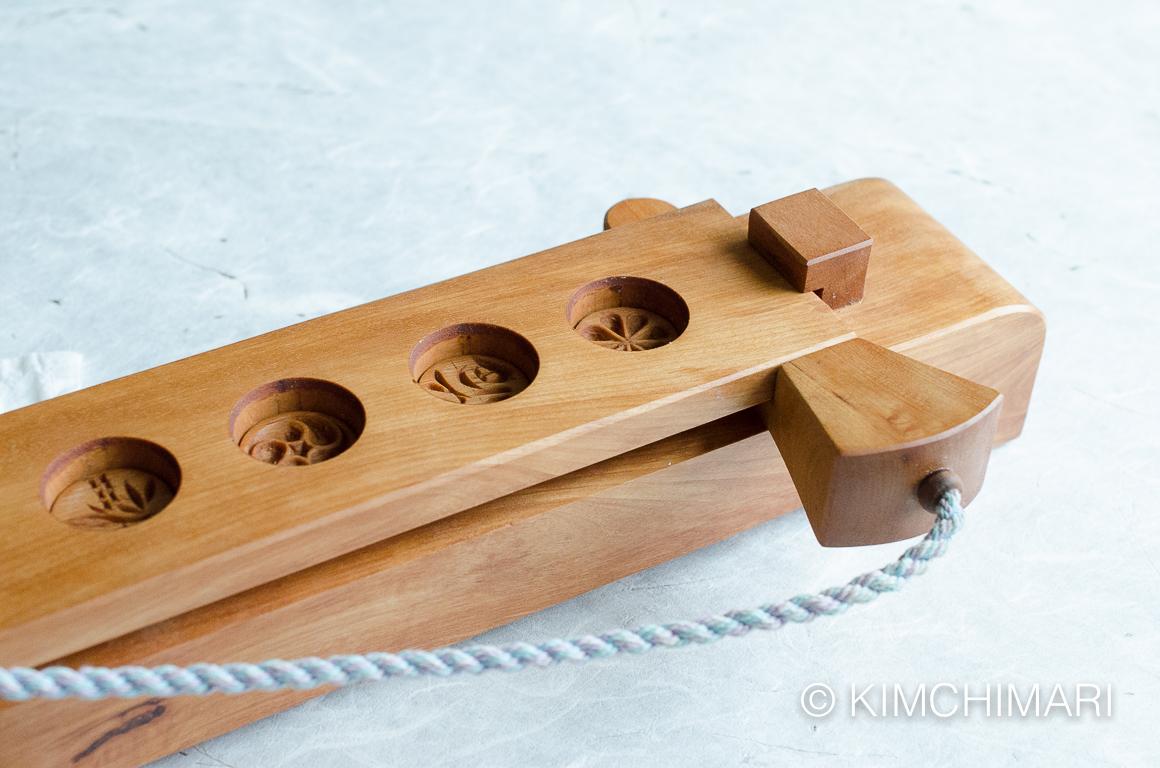 Korean Dasik Mold for tea cookies ready for dough