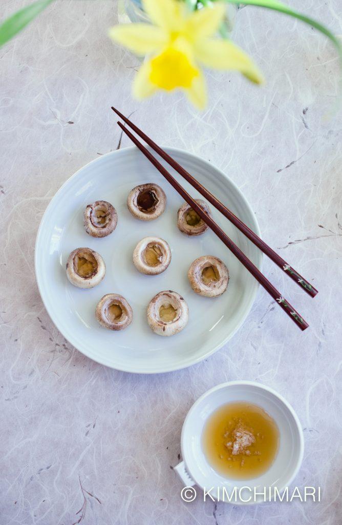 Korean Pan-Cooked Mushroom