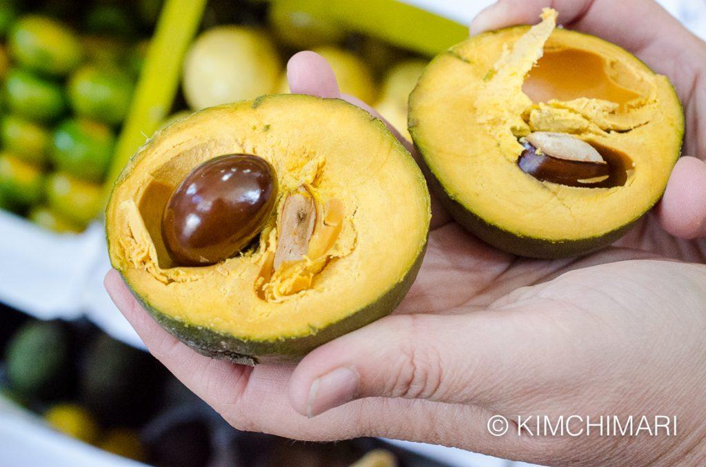 Lucuma Fruit at Peru market