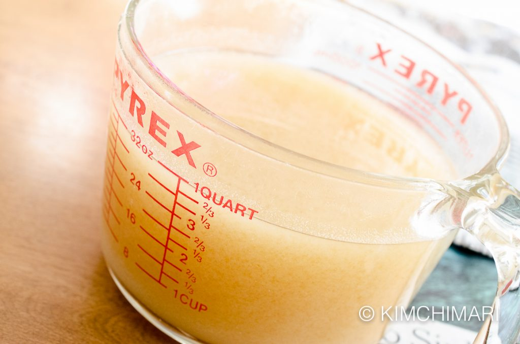 rice syrup sweet flour liquid for gochujang recipe