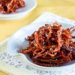 Korean Spicy Squid Recipe (Ojingeochae Muchim)
