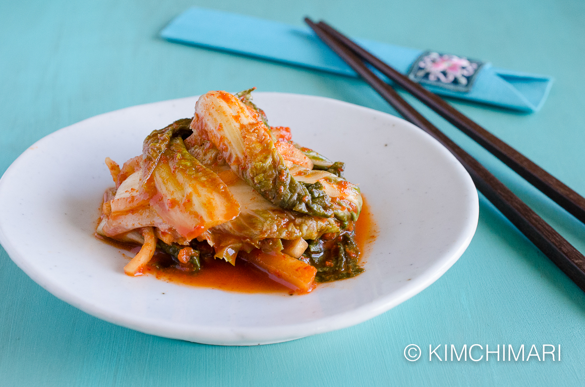Vegan cabbage kimchi with apples and ginger kimchimari korean vegan cabbage kimchi with apples and ginger forumfinder Choice Image