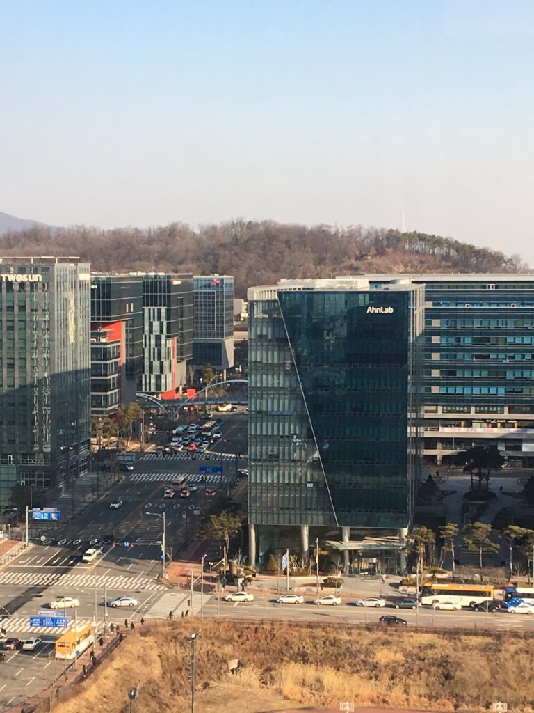Pangyo Techno Valley, Korea