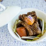InstantPot Short Ribs - Korean Galbi Jjim