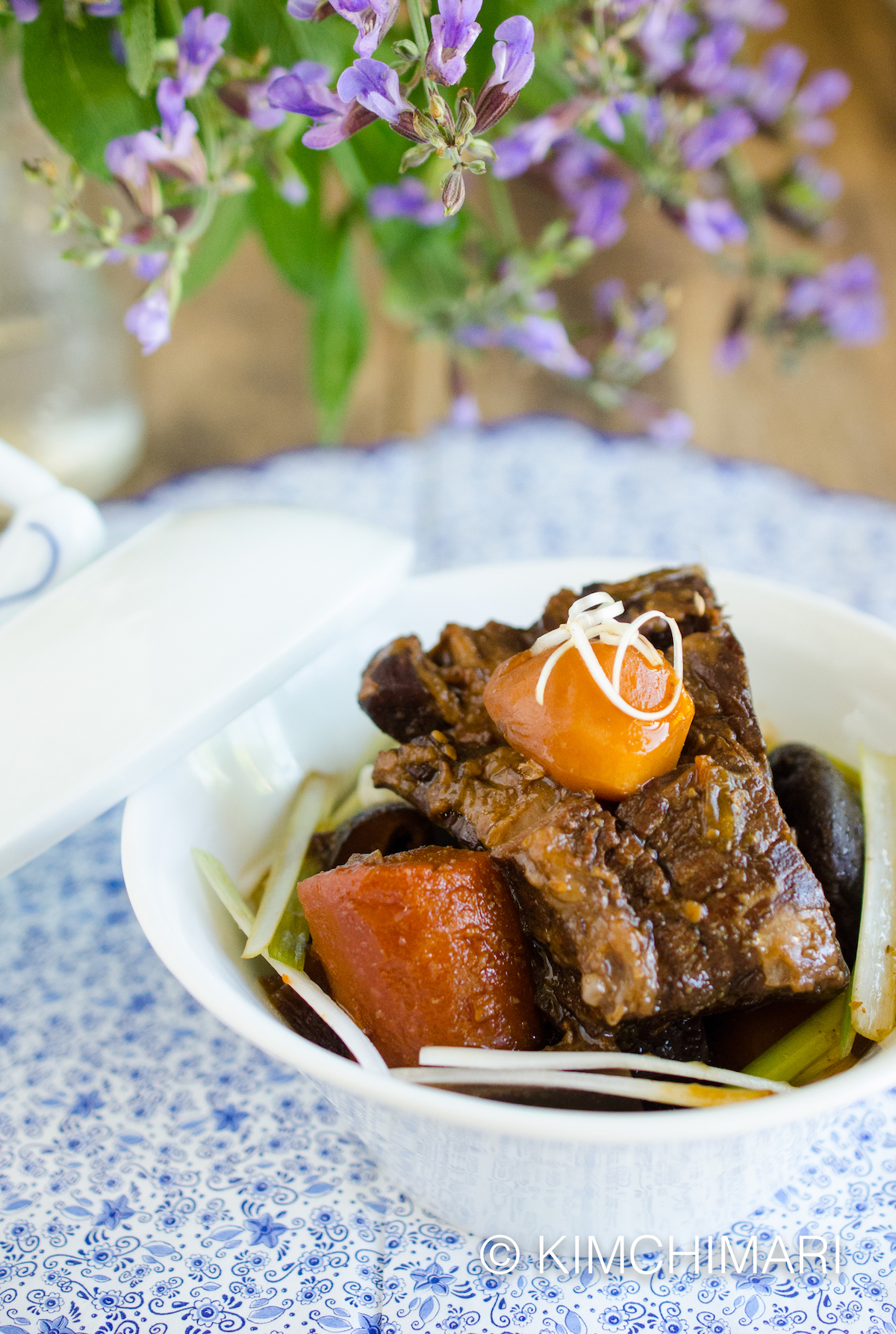 Instant Pot Short Ribs - Korean Galbi Jjim