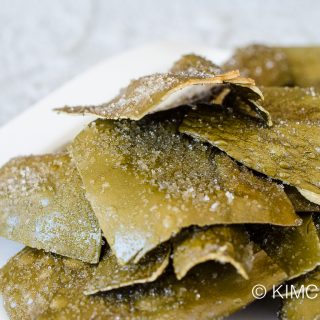 Korean Fried Kelp Chip Recipe (Dasima Twigak)