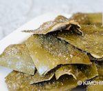 Korean Fried Kelp Chips - Dasima Twigak recipe