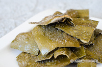 Korean Fried Kelp Chips - Dasima Twigak recipe