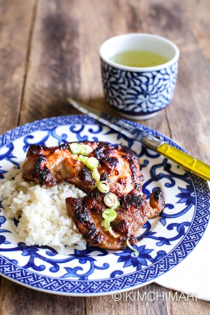 Chicken Bulgogi-Dak Bulgogi-Rice and Tea