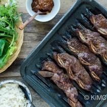 Kalbi Korean Short Ribs and Lettuce Ssam