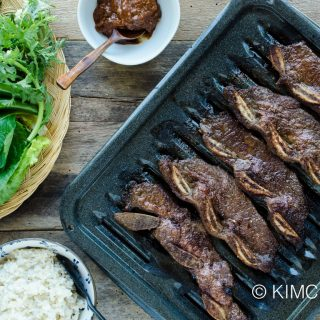 Kalbi – Easy Korean Short Ribs Blender Marinade for BBQ!